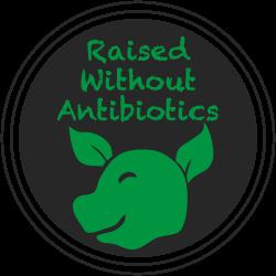 Raised Without Antibiotics